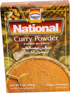 National Curry Powder 200g