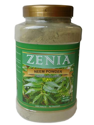Zenia Neem Powder Bottle - Zenia Herbal