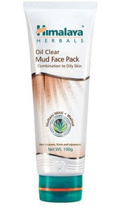 Himalaya Oil Clear Mud Face Pack 100g Multani Mitti & Walnut