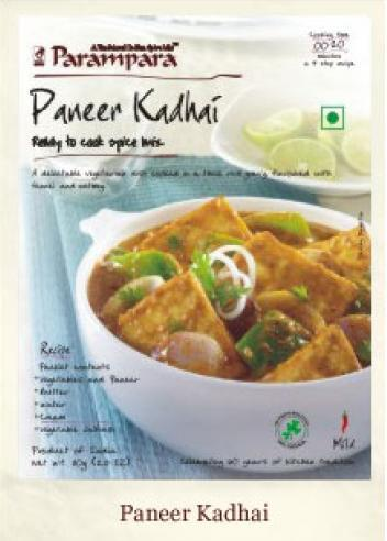 Parampara Paneer Kadhai Ready to Cook Spice Mix 80g
