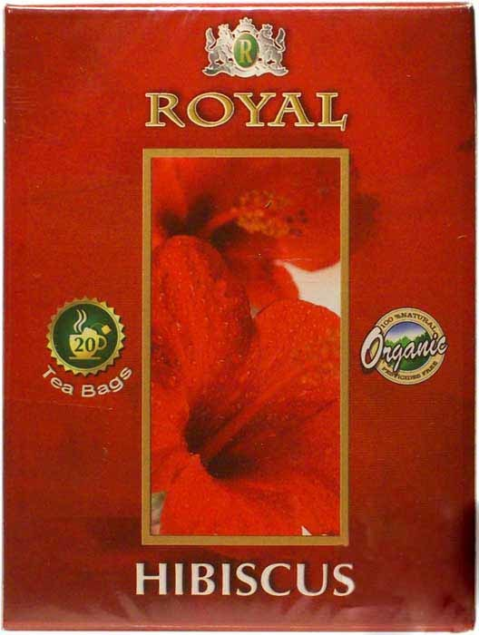 6 Royal Hibiscus Tea 20 Tea Bag Boxes