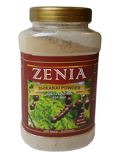 Zenia Shikakai Powder Bottle - Zenia Herbal