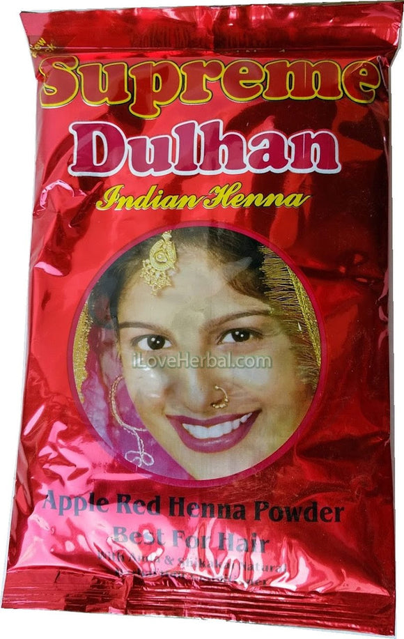 Apple Red Color Supreme No 1 Bridal Henna Powder 150g (5.2oz)