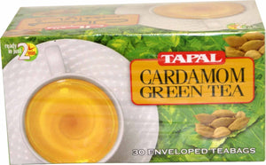 3 Tapal Cardamom Green Tea Boxes