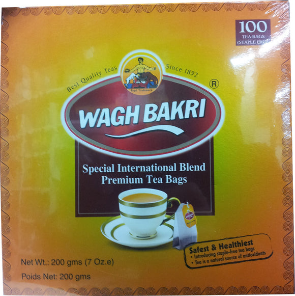 Wagh Bakri Special International Blend Premium Tea Bags 200g