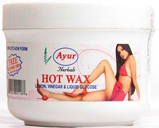 Ayur Herbals Hot Wax 150g With Cellophane Strips