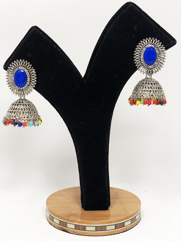 E70 Indian Jhumka Jewelry Earrings