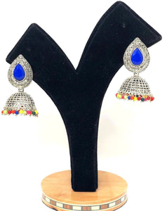 E8 Indian Jhumka Jewelry Earrings