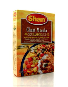 Shan Chaat Masala Indian Food Seasoning