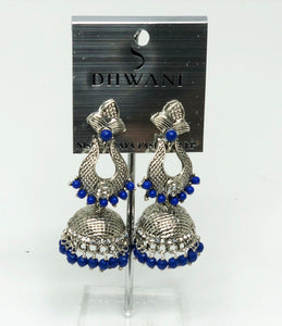 74S Indian Jhumka Jewelry Earrings