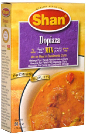 Shan Dopiaza Mix Meat 50g