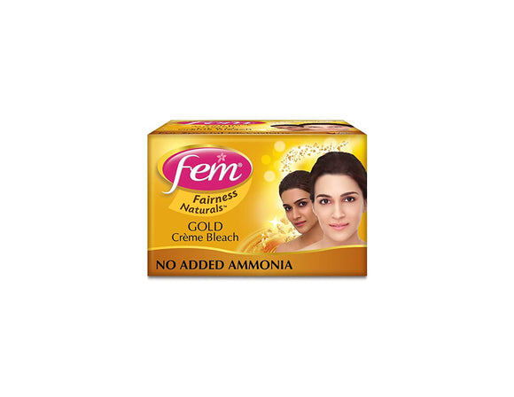 Salon Size Fem Gold Creme facial Bleach 230g