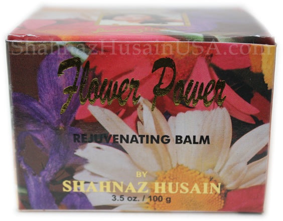 Flower Power Rejuvenating Skin Balm Face Pack Mask