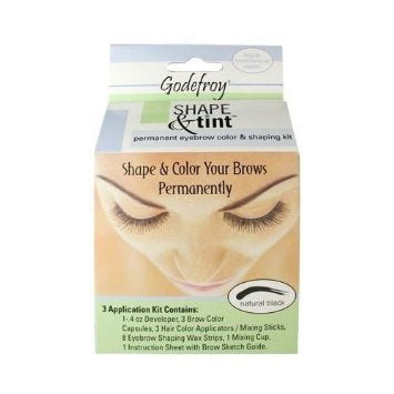 Godefroy Eyebrow Shape & Tint Kit Permanent