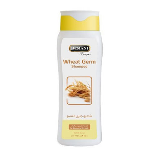 300ml Hemani Herbal Wheat Germ Shampoo