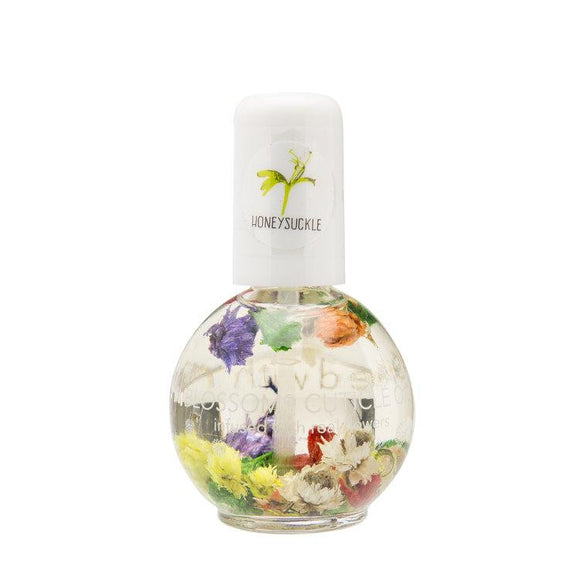 BLOSSOM CUTICLE OIL infused with real flowers Honeysuckle 0.42 fl. oz.