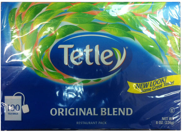 3 Tetley Original Blend Tea 100 Tea Bag Boxes