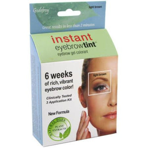 Godefroy Instant eyebrow tint Light Brown