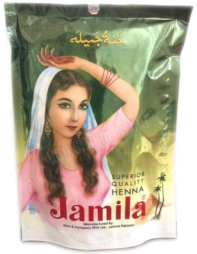 Jamila Henna Powder 250g 2017 Crop BAQ Body Art Quality