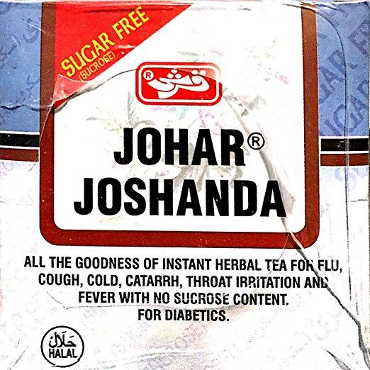Qarshi Johar Joshanda with Honey Total 30 Herbal Tea Bags