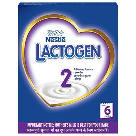 Nestle Lactogen 2 Milk powder Infant Formula 400gm (8901058856163)