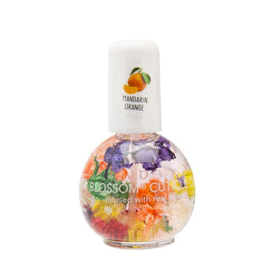 BLOSSOM CUTICLE OIL infused with real flowers Mandarin Orange 0.42 fl. oz.