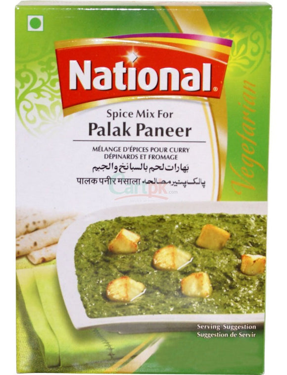 National Spice Mix For Palak Paneer 50g