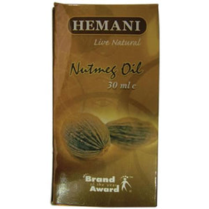 Hemani Nutmeg Essential Oil 30ml