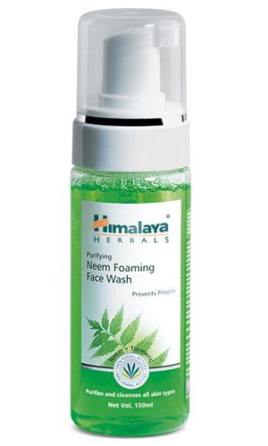 Himalaya Herbals Purifying Neem Foaming Face Wash