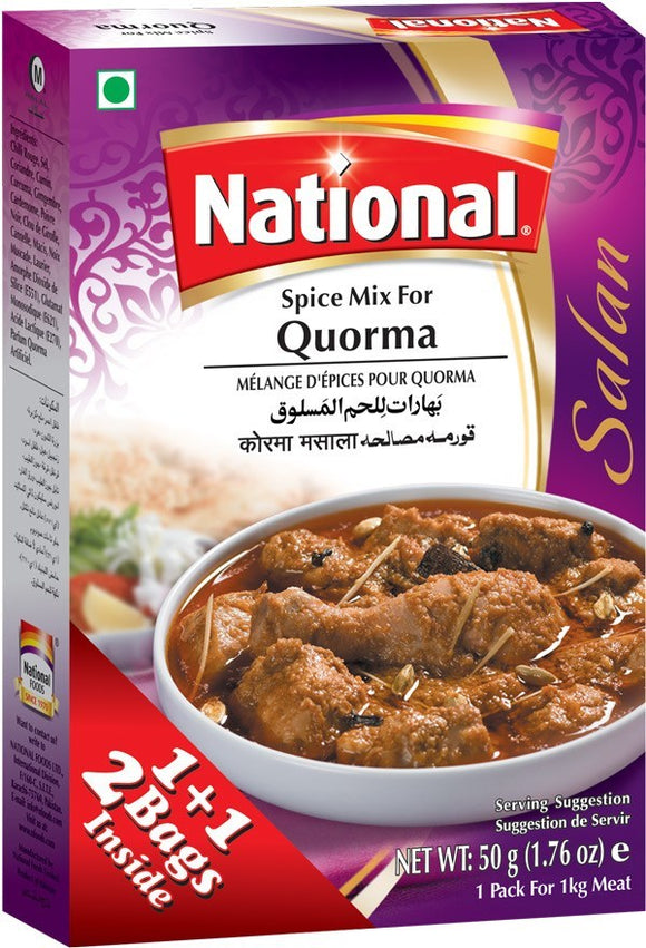 National Spice Mix For Quorma Salan 100g