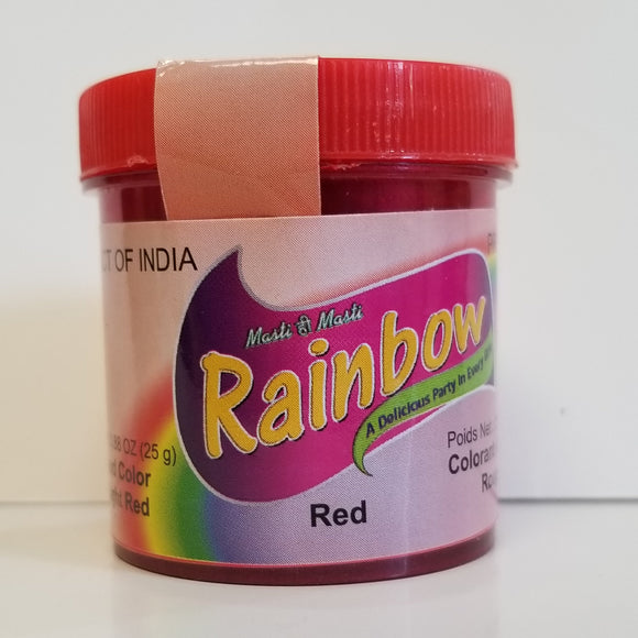 Rainbow Red Food Color 25g