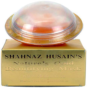 Shahnaz Husain Gold Beautifying Facial Mask 100g