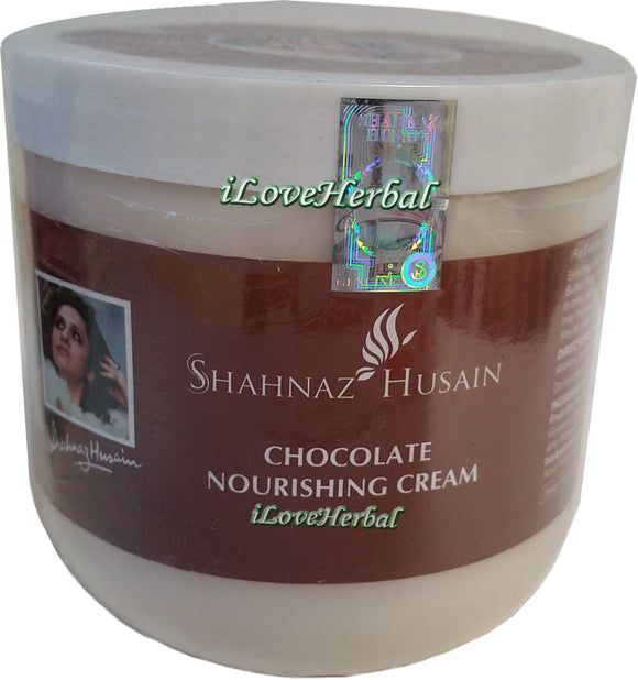 Salon Size Shahnaz Chocolate Nourising Cream 500g