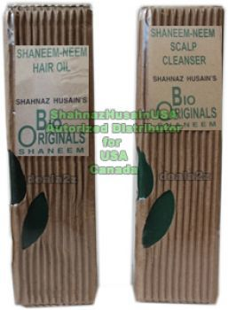 Shahnaz Neem Hair Kit Neem Oil + Scalp Cleanser