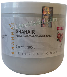 200g Shahnaz Husain Shahair Henna Hair Conditioning Powder