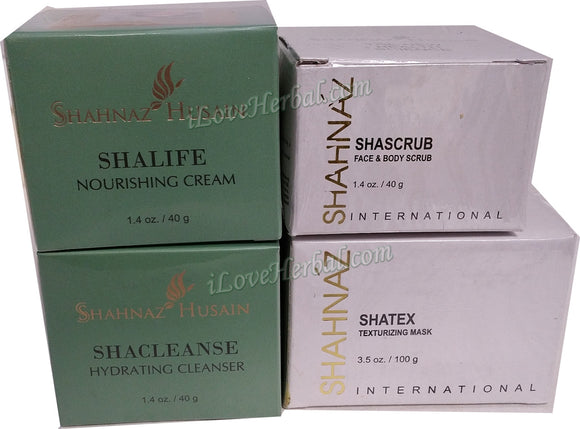 Shahnaz Husain Herbal Facial Kit I