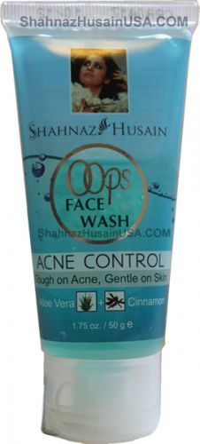 Shahnaz Husain OOps Acne Control Face Wash 50g