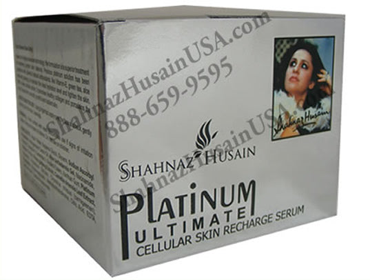 Shahnaz Platinum Facial Skin Recharge Serum