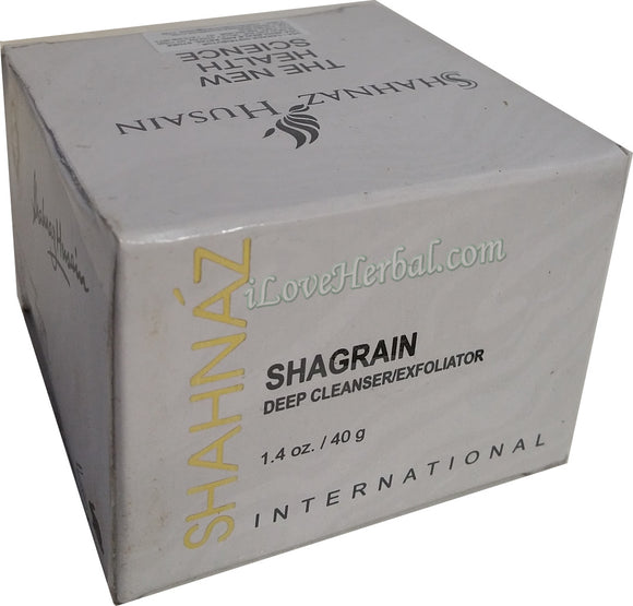40g Shahnaz Husain Shagrain use with Sharose as Facial Scrub