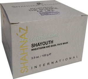 Shahnaz Husain Shayouth Anti Ageing Face Pack Mask