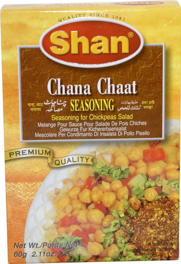Shan Channa Chaat Seasoning 60g