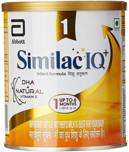 Abbott Similac IQ Plus Infant Formula Stage 1 For Up To 6 Months (400g)