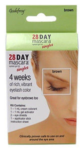 Godefroy Twenty Eight Day Mascara Brown