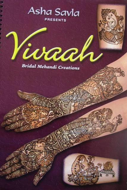 Vivah Henna Design Book By Asha Savla
