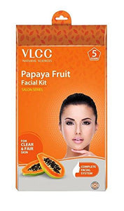 VLCC Professional Papaya Salon Series Fruit Facial Kit 5x10g