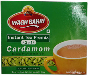 Wagh Bakri instant tea premix three in one Cardamom 260g