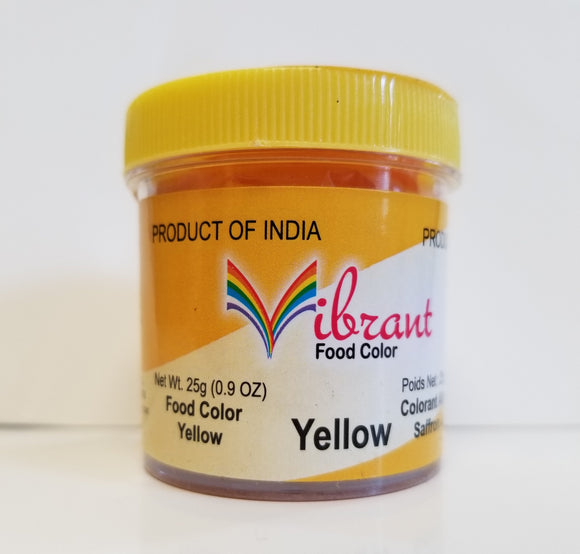 Vibrant Yellow Food Color 25g