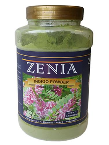 Zenia Indigo Powder Bottle