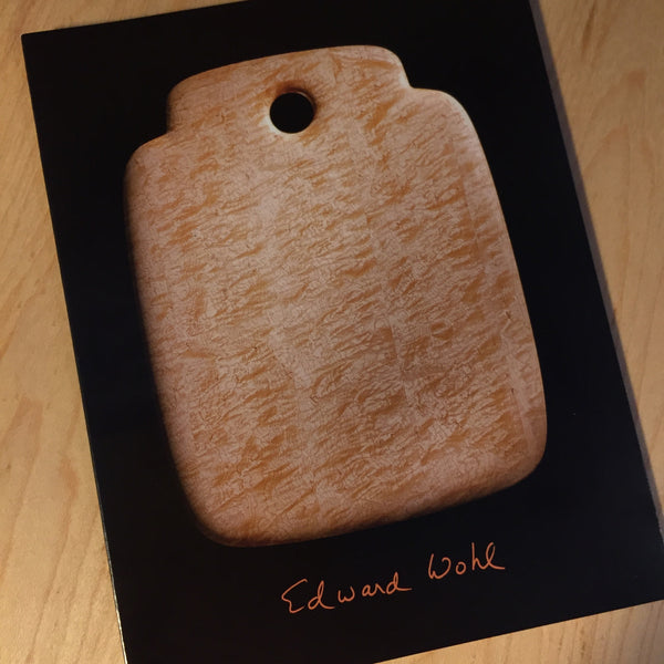 Edward Wohl<br>Bird's-eye Maple Breadboards
