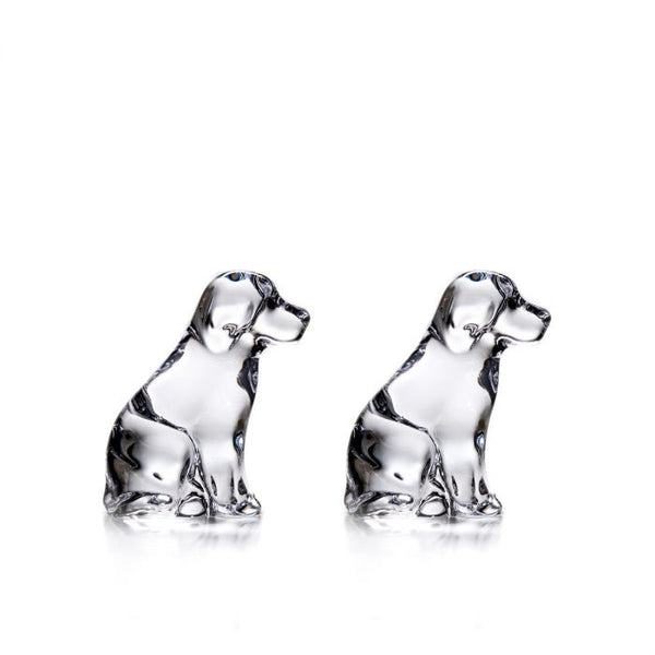 Simon Pearce Dog & Puppy<br>(gift boxed)
